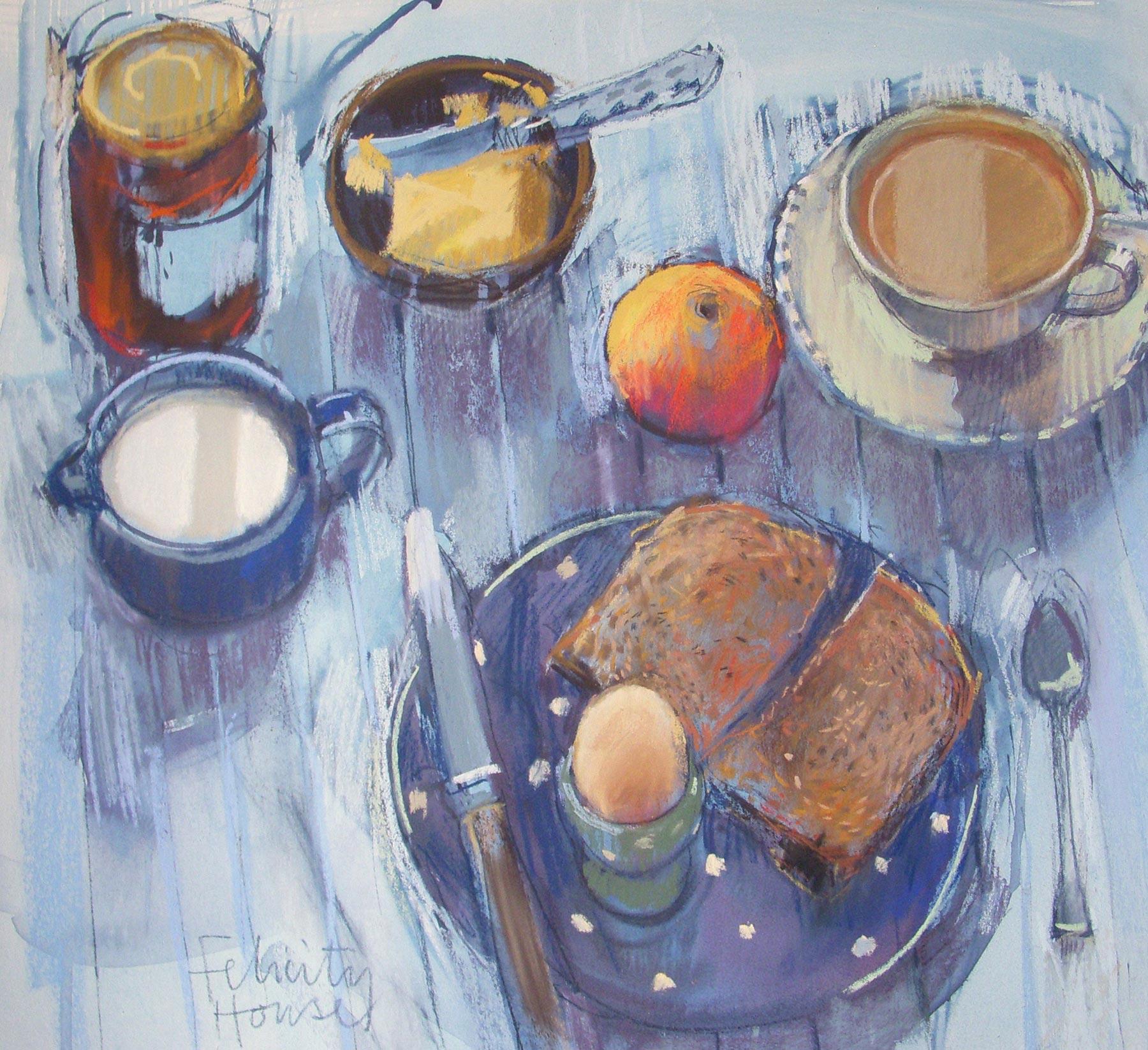 Felicity House Breakfast Table